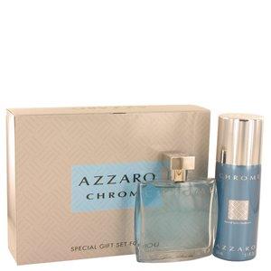 Chrome - Gift Set -- 3.4 oz Eau De Toilette Spray + 5 oz Deodorant Spray