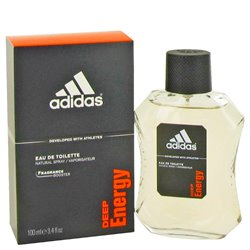 Adidas Deep Energy - Eau De Toilette Spray 100 ml